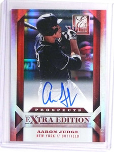 2013 Panini Elite Extra Edition Aaron Judge autograph auto rc #D500/599  *70973
