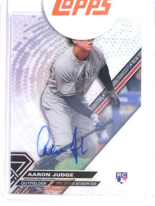 2017 Topps High Tek Aaron Judge autograph auto rc rookie #HT-AJ *70975