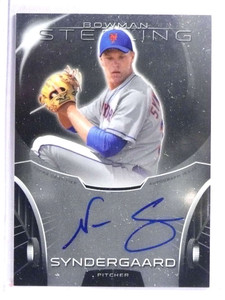 2013 Bowman Sterling Noah Syndergaard autograph auto rc rookie  *71109