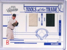 2005 Playoff Absolute Tools OF Trade Ted Williams jersey jacket #D004/100 *70994
