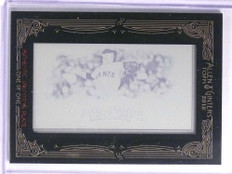 2012 Topps Allen & Ginter Tim Lincecum Cyan Printing Plate #D 1/1 *71044