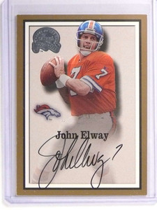 2000 Fleer Greats Of The Game John Elway autograph auto *70972