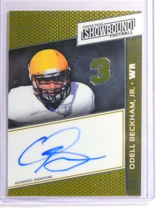 2014 Press Pass Showbound Odell Beckham Jr. autograph auto rc rookie  *71035
