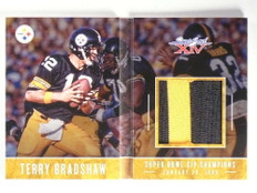 2017 Panini Preferred Super Bowl Book Terry Bradshaw patch #D24/25 *71011