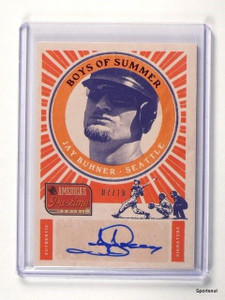 2013 Panini America's Pastime Boys Of Summer Jay Buhner autograph auto #7/10 *42