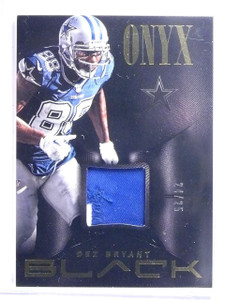 2013 Panini Black Onyx Dez Bryant Patch #D24/25 #40 *64214