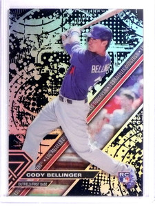 2017 Topps High Tek Blackout Cody Bellinger Rookie RC #HTCBE *71437