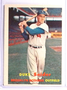 1957 Topps Duke Snider #170 EX *71130