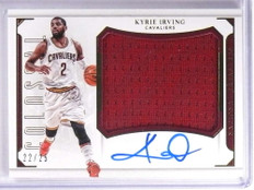 2015-16 National Treasures Colossal Kyrie Irving Jersey Autograph #D22/25 *71322