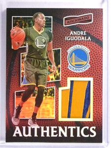 2016-17 Panini Aficionado Authentics ANdre Iguodala Patch #D23/25 #59 *71417