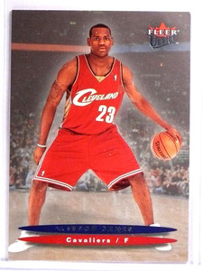 2003-04 Ultra H2 Hummer LeBron James Rookie rc #171 *71431