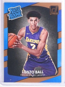 2017-18 Panini Donruss Lonzo Ball Rookie RC #199 *71432
