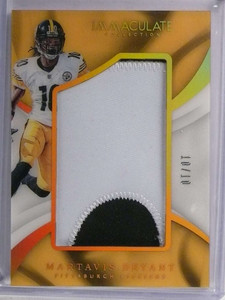 2017 Panini Immaculate Martavis Bryant Jumbo 2 color patch #D10/10 *71218