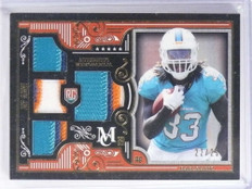 2015 Topps Museum Jay Ajayi Rookie Quad 3color Patch #D22/25 #RQRJA *71251