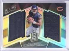 2017 Panini Spectra Rising Rookie Mitchell Trubisky Jersey #D167/199 #2 *71295