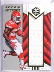 2017 Panini Limited Rookie Phenoms Kareem Hunt Jersey #D84/99 #RPJKH *71466