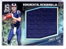 2016 Panini Spectra Monumental Jared Goff Rookie Jersey #D109/199 #26 *71470