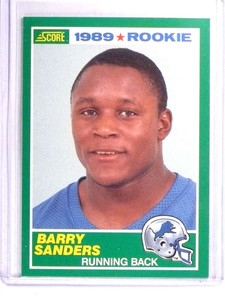 1989 Score Barry Sanders Rookie RC #257 *71385