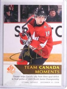 2012-13 SP Authentic Moments Team Canada John Tavares Autograph auto #198 *71373