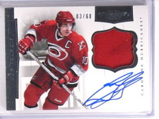 2011-12 Panini Dominion Ron Francis Patch Autograph auto #D03/60 #15 *71399