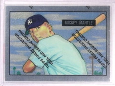 1996 Topps Mantle Finest Mickey Mantle #1 1951 Bowman *71697