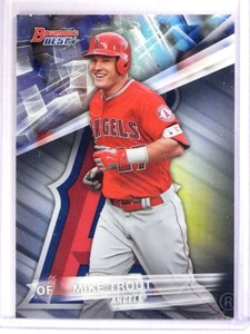 2016 Bowman's Best Refractor Mike Trout #1 *71718