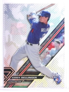 2017 Topps HighTek Camo Stripes Cody Bellinger Rookie RC #HTCBE *71500