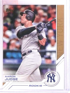 2017 Topps Salute Aaron Judge Rookie RC #S73 *71842