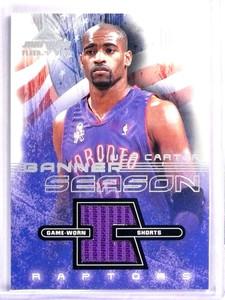 2001-02 Fleer Marquee Banner Season Vince Carter Jersey *71524