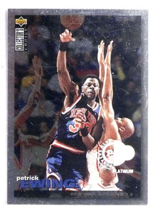 1995-96 UD Collector's Choice Platinum Player's Club #244 *71651