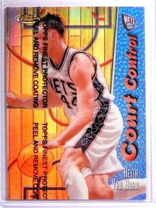 1998-99 Topps Finest COurt Control Refractor Keith Van Horn #D114/150 #CC2 *71656