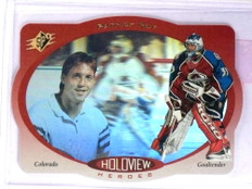 1996-97 UD SPx Holoview Heroes Patrick Roy #HH2 *71666
