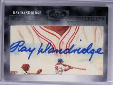 2006 Topps Sterling Cuts Ray Randridge autograph auto #CUT-89 *71954