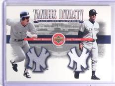 2002 Upper Deck Yankee Dynasty Wade Boggs Joe Torre Dual Jersey #YLBT *59713