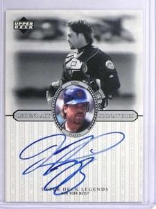 2000 Upper Deck Legends Mike Piazza autograph auto #S-Mp *71971