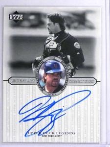2000 Upper Deck Legends Mike Piazza autograph auto #S-Mp *71974