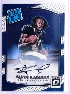 2017 Donruss Optic Alvin Kamara autograph auto rc  rookie #d109/150 #199 *71981