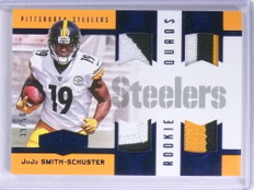 2017 Panini Plates Patches Juju Smith-Schuster quad patch rc #D39/50 *72031