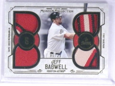 2015 Topps Museum Collection Primary Jeff Bagwell quad patch #D01/25 *72042