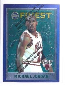 1995-96 Topps Finest Michael Jordan #229 BULLS *72132