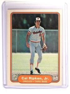 1982 Fleer Cal Ripken RC Rookie  #176 *47115