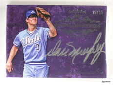 2013 Topps Five Star Silver Signatures Dale Murphy autograph auto #d15/15 *43372