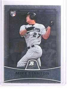 2010 Bowman Platinum Giancarlo Stanton rc rookie #86 *72338