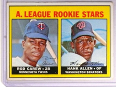 1967 Topps Rod Carew rc rookie #569 VG *72226