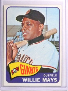 1965 Topps Willie Mays #250 EX *72258