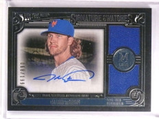 2016 Topps Museum Collection Jacob Degrom autograph jersey #D68/199 *72552