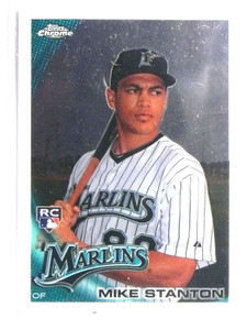 2010 Topps Chrome Giancarlo Stanton rc rookie #190 *72590