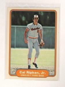 1982 Fleer Cal Ripken Jr. rc rookie #176 *46490