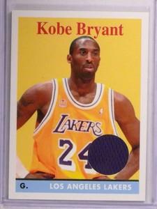 2008-09 Topps 1958-59 Relics Kobe Bryant jersey #24 *72638
