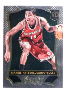 2013-14 Panini Select Giannis Antetokounmpo rc rookie #178 *72555